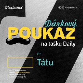 Dárkový poukaz na tašku Daily
